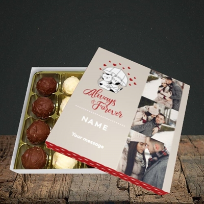 Picture of Always & Forever, Valentine's Design, Choc 16