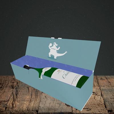 Picture of Bridezilla, Engagement Design, Lay-down Bottle Box