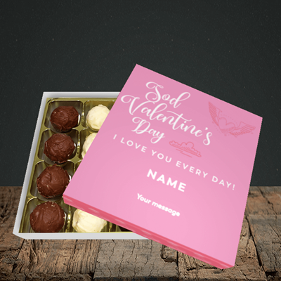 Picture of Sod Valentine's Day, (Without Photo) Valentine Design, Choc 16