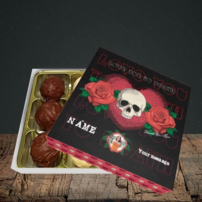 Picture of Love You To Death, Valentine Design, Choc 9