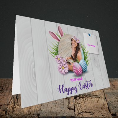 Picture of Grass, Easter Design, Landscape Greetings Card