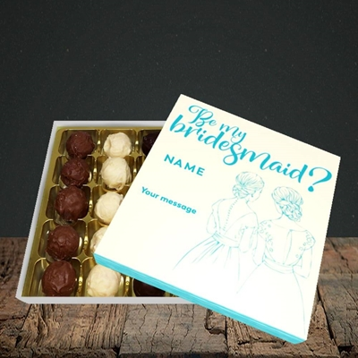 Picture of Be My Bridesmaid(Without Photo), Wedding Design, Choc 25