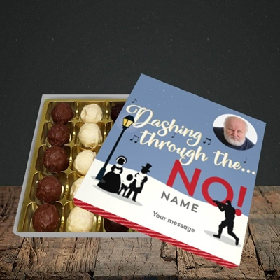 Picture of Dashing Through The... NO!, Christmas Design, Choc 25
