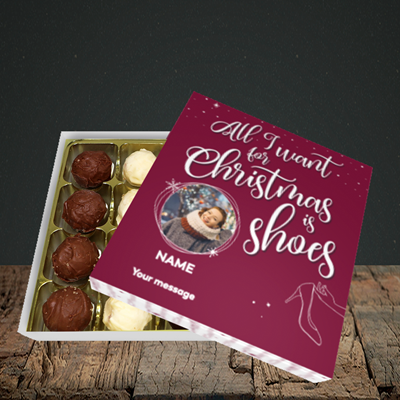 Picture of Christmas Shoes, Christmas Design, Choc 16