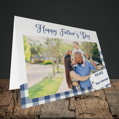 Picture of 1. Large Photo, Father's Day Design, Landscape Greetings Card