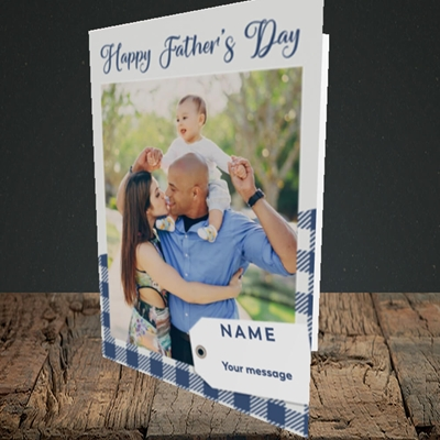 Picture of 1. Large Photo, Father's Day Design, Portrait Greetings Card