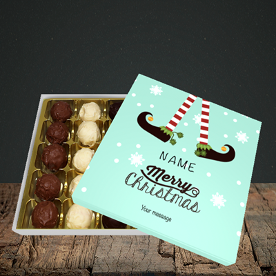 Picture of Elf, (Without Photo) Christmas Design, Choc 25