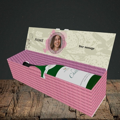 Picture of Elegant Mothers, Mother's Day Design, Lay-down Bottle Box
