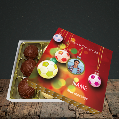 Picture of Christmas Baubles, Christmas Design, Choc 9