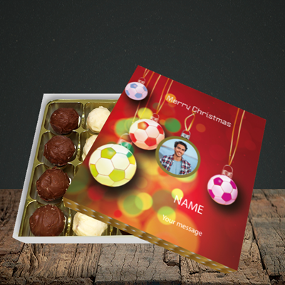 Picture of Christmas Baubles, Christmas Design, Choc 16