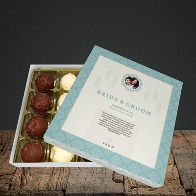 Picture of Moroccan Influences Teal B&G, Wedding Design, Choc 16