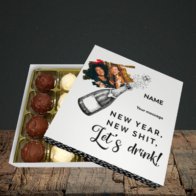 Picture of Let's Drink, New Year Design, Choc 16
