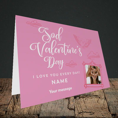 Picture of Sod Valentine's Day, Valentine's Design, Landscape Greetings Card