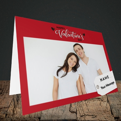 Picture of 1.A Valentine's Large Photo, Valentine's Design, Landscape Greetings Card