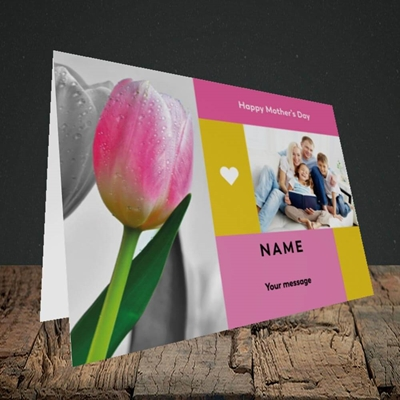 Picture of Mother's Day Tulips, Mother's Day Design, Landscape Greetings Card