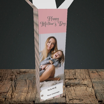 Picture of 1. Large Photo(Chequer), Mother's Day Design, Upright Bottle Box