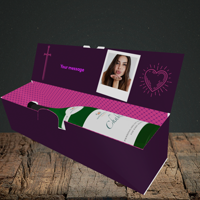Picture of Game Of Thrones, Valentine's Design, Lay-down Bottle Box