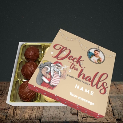 Picture of Deck The Halls, Christmas Design, Choc 9
