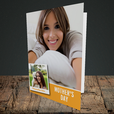 Picture of Photo, Mother's Day Design, Portrait Greetings Card