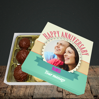 Picture of Roses, Anniversary Design, Choc 9