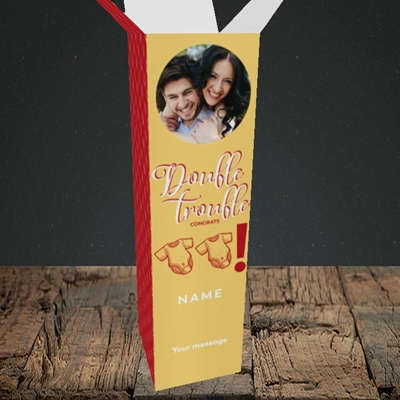 Picture of Double Trouble, New Baby Design, Upright Bottle Box