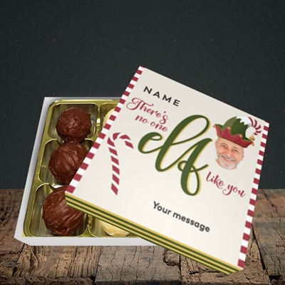 Picture of No One Elf, Christmas Design, Choc 9