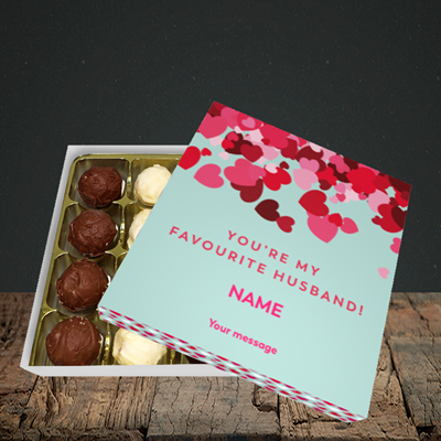 Picture of Favourite Husband(Without Photo), Valentine Design, Choc 16