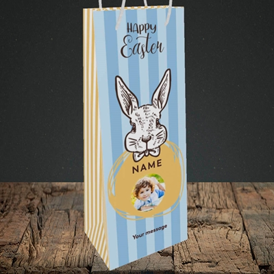 Picture of Bunny Of The Fells, Easter Design, Bottle Bag