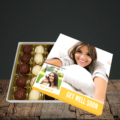 Picture of Photo, Get Well Soon Design, Choc 25