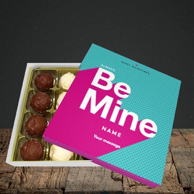Picture of Always be Mine (type) (Without Photo), Valentine Design, Choc 16