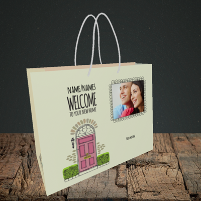 Picture of Doors, New Home Design, Small Landscape Gift Bag