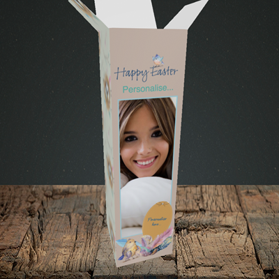 Picture of Birds, Easter Design, Upright Bottle Box