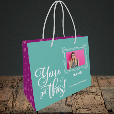 Picture of Got this, Good Luck Design, Small Landscape Gift Bag