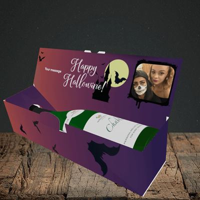 Picture of Hocus, Halloween Design, Lay-down Bottle Box
