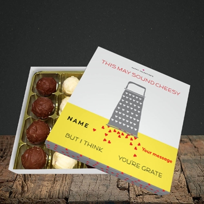 Picture of Cheesy Love(Without Photo), Valentine's Design, Choc 16