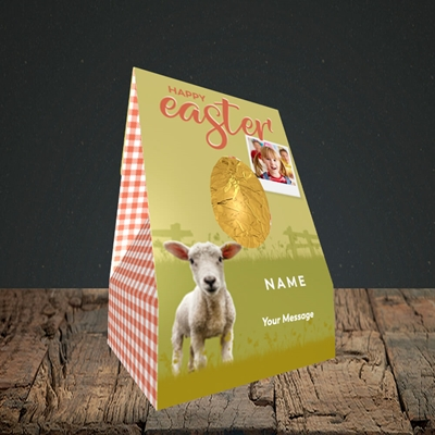 Picture of Lamb To See You, Easter Design, Large Egg