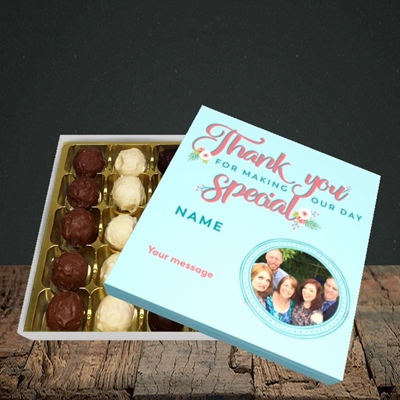 Picture of Thank You, Wedding Design, Choc 25