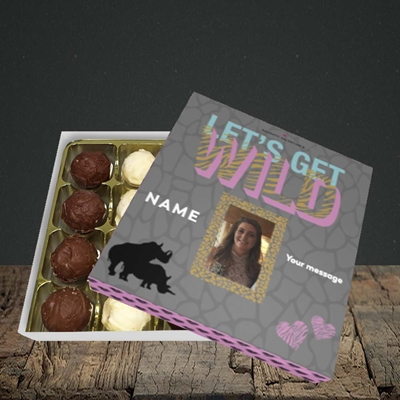 Picture of Let's Get Wild, Valentine's Design, Choc 16