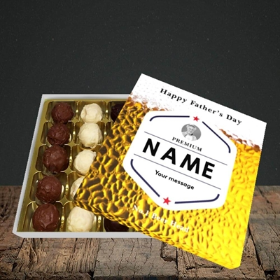 Picture of Premium Father, Father's Day Design, Choc 25