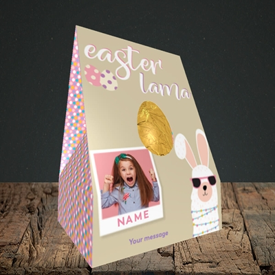 Picture of Easter Lama, Easter Design, Large Egg