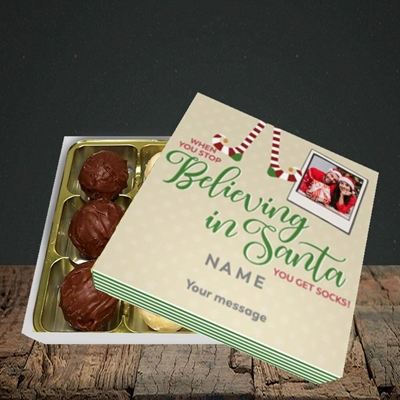 Picture of Believing In Santa, Christmas Design, Choc 9