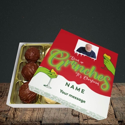 Picture of Drink Up Grinches, Christmas Design, Choc 9