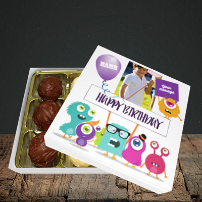 Picture of Monster, Birthday Design, Choc 9