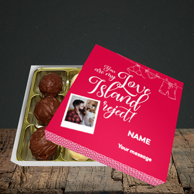 Picture of Love Island Reject, Valentine Design, Choc 9