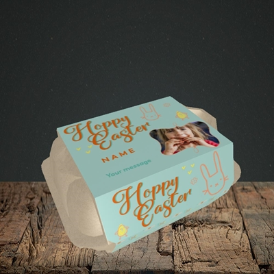 Picture of Hoppy Easter, Easter Design, 6 Egg Box