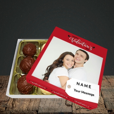 Picture of 1.A Valentine's Large Photo, Valentine's Design, Choc 9