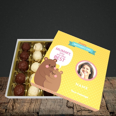 Picture of Mummy You Are The Best Bear, Mother's Day Design, Choc 25