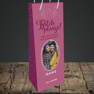 Picture of Bitch Please!, Wedding Design, Bottle Bag