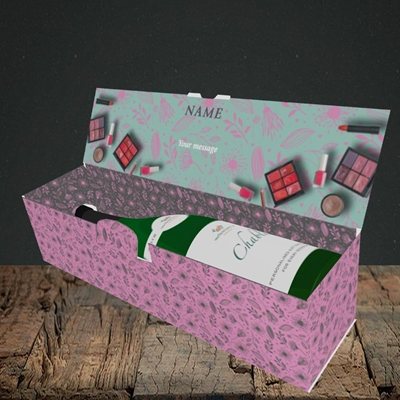 Picture of Makeover Day(No Photo), Mother's Day Design, Lay-down Bottle Box