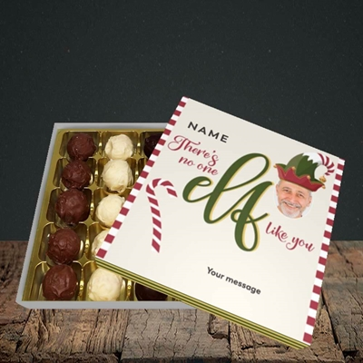 Picture of No One Elf, Christmas Design, Choc 25